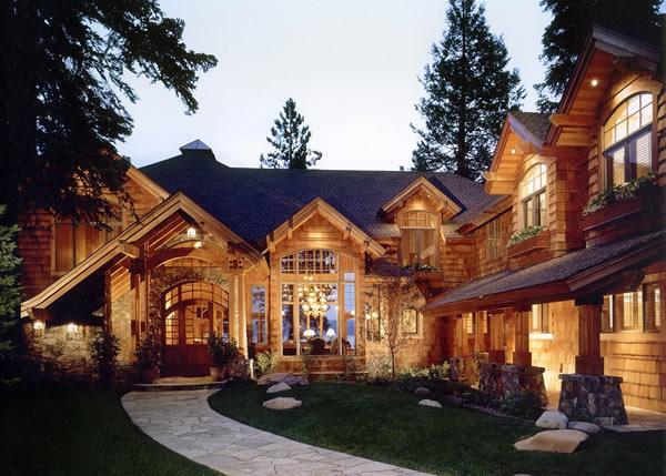 Горные дома фото