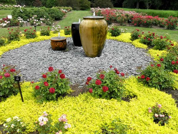 идеи для небольшого фонтана в саду