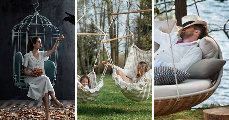 9 Examples Of Superbly Suspended Seating