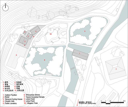 План сайта района Шуйку