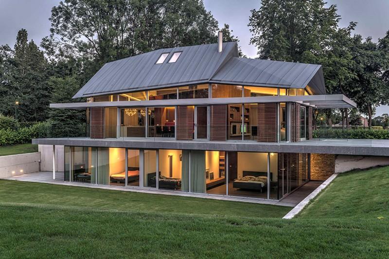Современный голландский дом