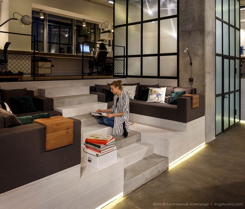Contemporary office interior design