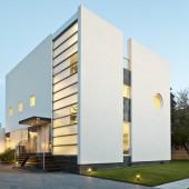 Пример, двухэтажный коттедж