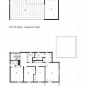 План проект двухэтажного коттеджа