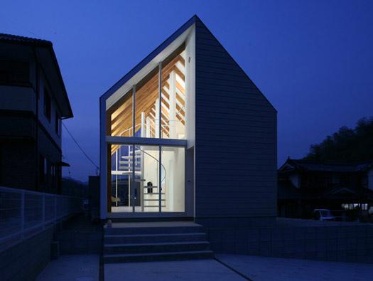 Проект коттеджа японского архитектора