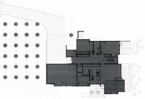 План коттеджа, второй этаж. Спальни, детская, санузел. Все продуманно и функционально.