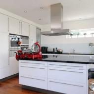 Проект коттедж-шале. Примеры дизайна интерьера. Кухня.