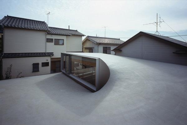 Проект японского городского дома-коттеджа