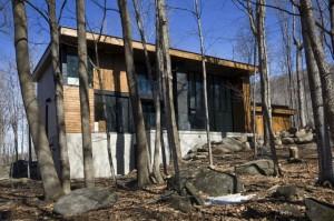 Проект деревянного двухэтажного коттеджа