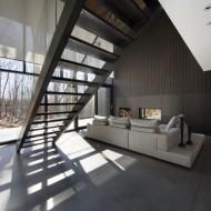 Проект двухэтажного деревянного коттеджа