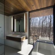 Ванная комната в интерьере коттеджа