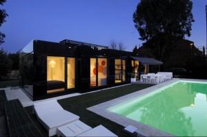 Загородный дом из композитных материалов. Авторский проект.