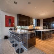 Столовая открытая кухня