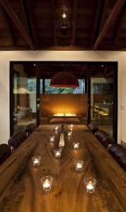 Дизайн интерьеров коттеджа столовая