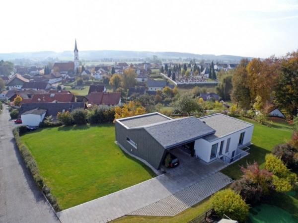 Современный красивый дом по немецкому проекту