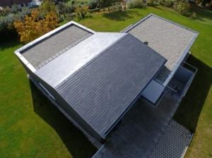 Современный дом коттедж вид сверху