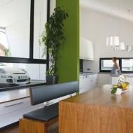 Гостиная кухня в одной открытой студии