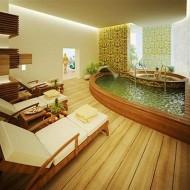 Большая ванная комната в коттедже. Дизайн интерьера фото с сайта http://www.ecotectura.ru/ строительство и архитектура коттеджей.