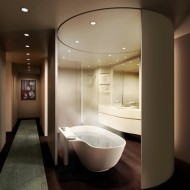 Идеи для дизайна ванной в коттедже фото с сайта http://www.ecotectura.ru/ строительство и архитектура коттеджей.