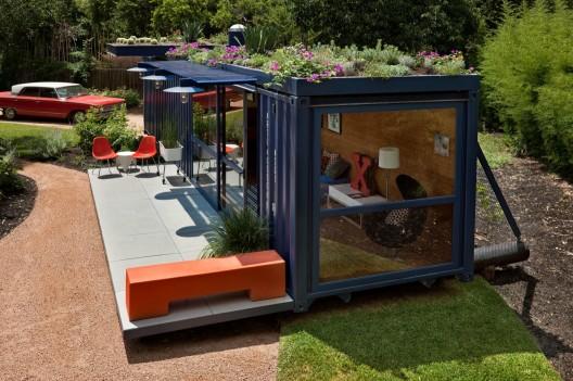 проект домика из грузовых контейнеров