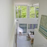 Дизайн интерьеров коттеджа вид из-под потолка