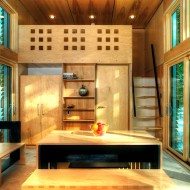 Проект мини дома из сборных панелей с готовой внутренней отделкой