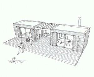 Модульная конструкция при строительстве дачи