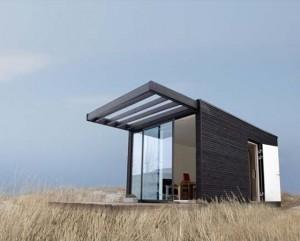 Дача. Проект модульного деревянного дома
