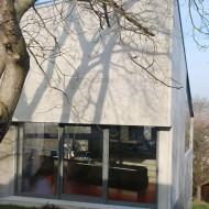 Проект современного дома из одной комнаты