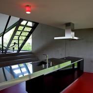 Кухня в стиле минимализм. Интерьеры современного коттеджа