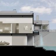 Проект коттеджа с гаражом. Проекты домов и коттеджей