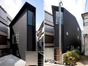 Пример проекта японского современного дома