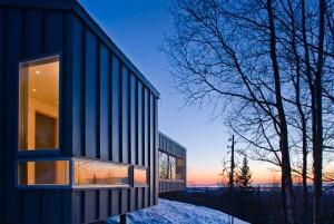 Проект современного 1-этажного коттеджа