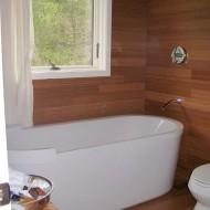 Санузел, ванная комната в сборном домике