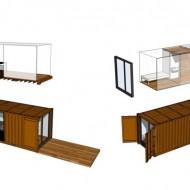 Проекты домов из транспортных контейнеров