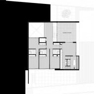 План просторного коттеджа первый жилой этаж