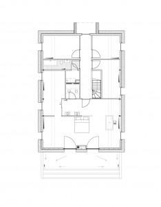 План двухэтажного коттеджа