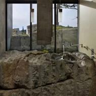 Ванная комната из природного камня