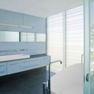 Ванная комната в современном коттедже
