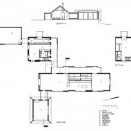 План одноэтажного коттеджа
