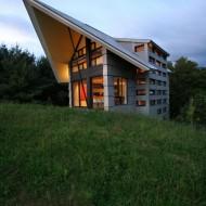 Проект современного деревенского коттеджа