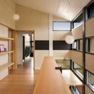 Дизайн интерьеров современного коттеджа в светлых тонах