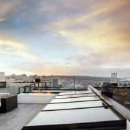 Крыша коттеджа как обзорная площадка и открытая терраса