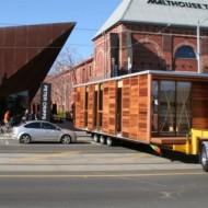 Транспортировка и монтаж щитовых домиков