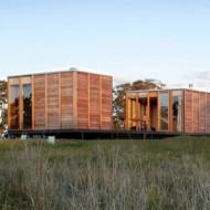 Передвижной дом из готовых блоков