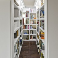 Небольшая библиотека -- отдельная комната
