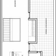 Расположение санузла и жилых помещений коттеджа
