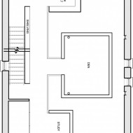 План комнат в проекте коттеджа
