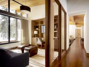 Дизайн интерьера кабинета в коттедже