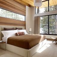 Примеры спален в коттеджах; фото удачных интерьеров